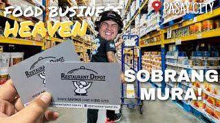 RESTAURANT DEPOT TOUR | SECRET SHOP FOR FOOD BUSINESS | EVERYDAY SALE | TEAM ZENINE