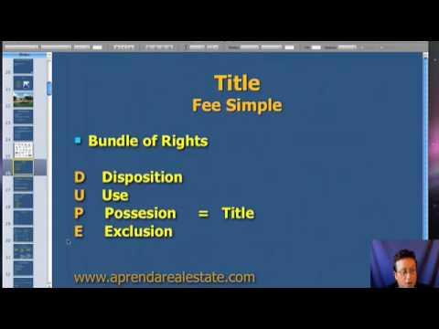 Real Estate Agent Test Cram 1 - Real Estate Course Online - YouTube