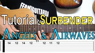 Como Tocar Surrender de Angels and Airwaves (AVA) en guitarra acústica - Completo - Tutorial HD