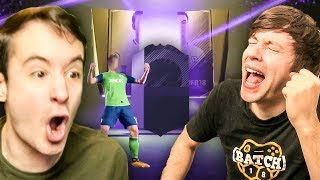 OMG I PACKED MY FIRST HERO CARD YESS - FIFA 18 ULTIMATE TEAM PACK OPENING