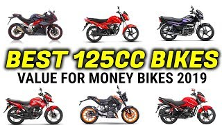 Best 125cc Bikes In India 2019 For Mileage And Performance 🔥