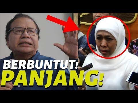 BERBUNTUT PANJANG! Rizal Ramli Mbak Khofifah Fokus ke Rakyat Jatim