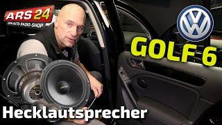Hecklautsprecher im VW Golf 6 einbauen | Eton POW160.2 | ARS24