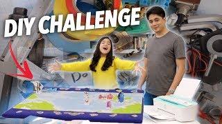 DIY CHALLENGE! (FINDING NEMO MAP) | Niana Guerrero