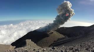 Semeru Volcano by Drone