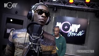 YOUNG THUG : Freestyle live @ Mouv' #MORNINGCEFRAN