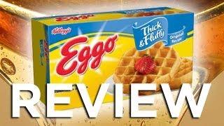 Eggo Thick  Fluffy Original Waffles Video Review: Freezerburns (Ep505)
