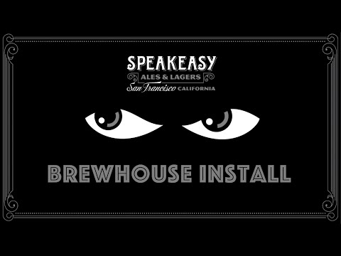 Time Lapse: New Brewhouse Installation - 30 BBL Brewhouse - sold by Prospero Equipment Corp.