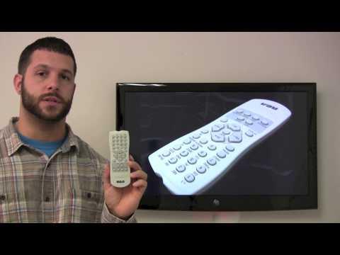 RCA RCR130TD1 TV Remote Control