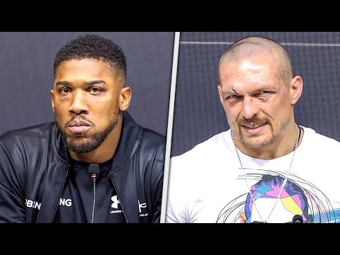Anthony Joshua vs. Oleksandr Usyk • FULL POST FIGHT PRESS CONFERENCE  • Matchroom Boxing