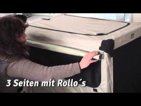 Maelson Faltbare Hundebox Kennel | HUND-unterwegs.de