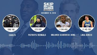 Eagles, Patriots/Bengals, Orlando Scandrick joins, Luka Dončić | UNDISPUTED Audio Podcast