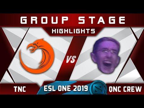 TNC vs SumaiL + Quincy Crew ESL One Hamburg 2019 Highlights Dota 2