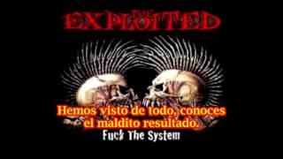 The Exploited Was It Me (subtitulado español)