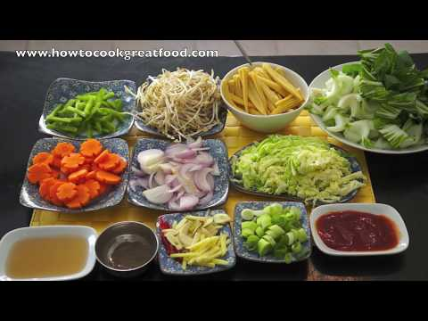 Chinese Stir Fry Vegetables Recipe – Asian Wok