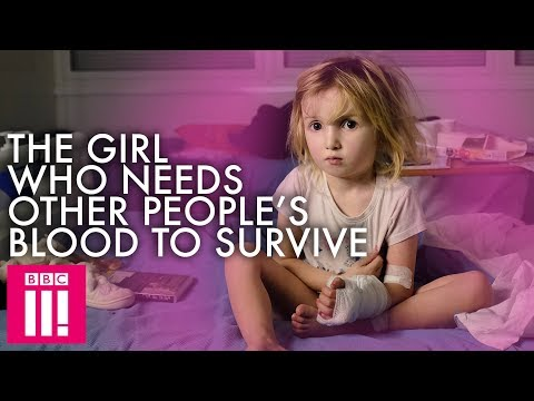 Screenshot for video: 'The Girl Who Needs Other People's Blood To Survive'