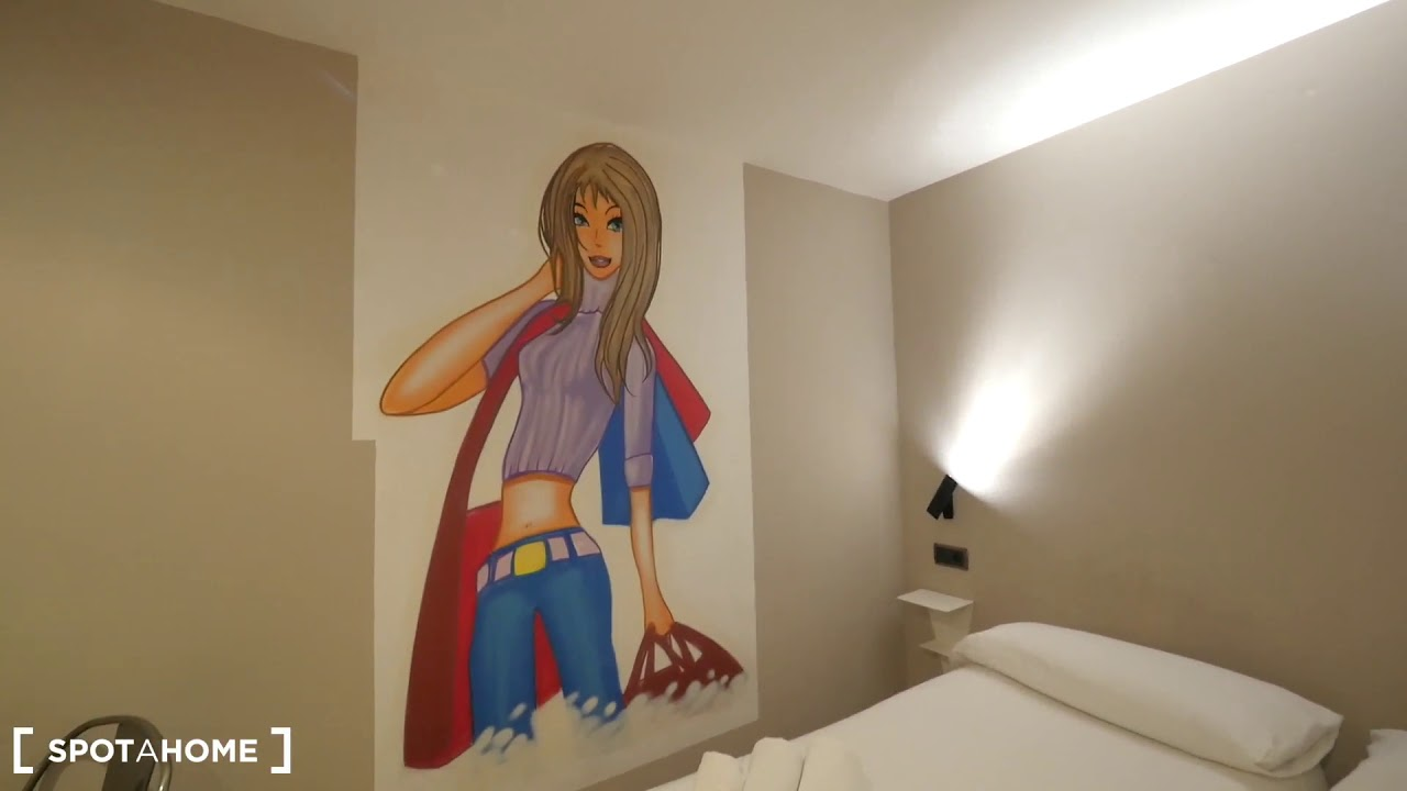 Funky studio apartment for rent in Barri Gòtic, Barcelona
