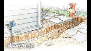 How to: Underground wiring repair 110v