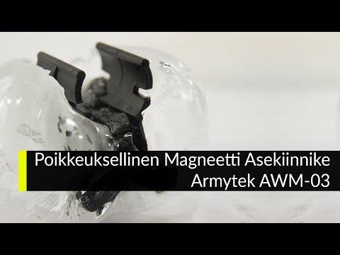 Poikkeuksellinen Magneetti Asekiinnike Armytek AWM-03