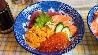 Street Food in Japan - Tour of Ameya-Yokocho Market | Budget Japanese Food and Spicy Kebab!