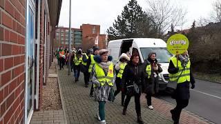 Ameos-Mitarbeiter streiken