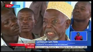 Rais Uhuru azindua feri Mombasa kwenye kivukio cha Mtongwe