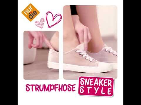 Nur Die Strumpfhose Sneaker Style!