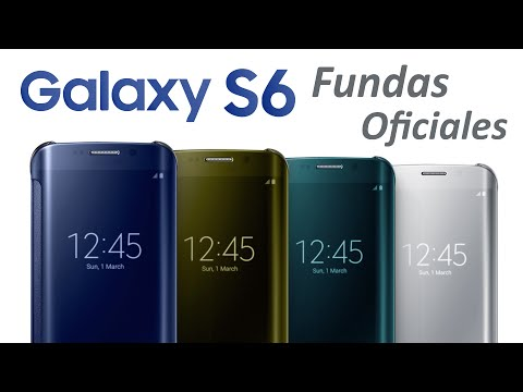 86b7e1c641c Fundas Galaxy S6 y S6 Edge: Características, Colores y Precios (Español)