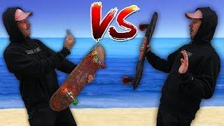 SKATE VS WAVEBOARD ( RipStik )