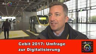 Cebit 2017 - Digitalisierung und IoT