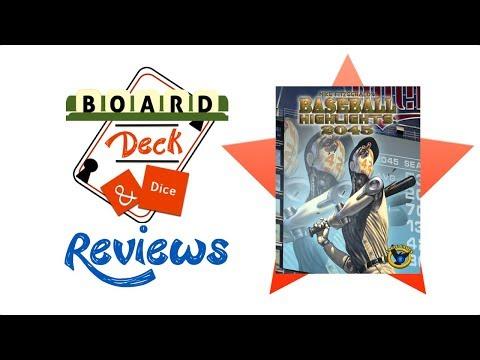 Board, Deck & Dice Review #142 - Baseball Highlights 2045