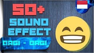 50+ Sound Effect Yang Sering Di Gunakan Youtuber | BAGI - BAGI #4 | Android Indonesia