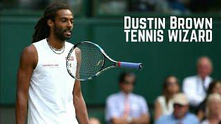 Tennis. Dustin Brown – Magic Moments