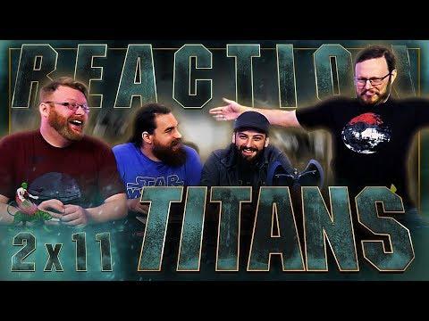 "Titans 2x11 REACTION!! ""E.L._.O."""