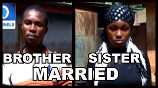 Man Explains Why He Married His Sister