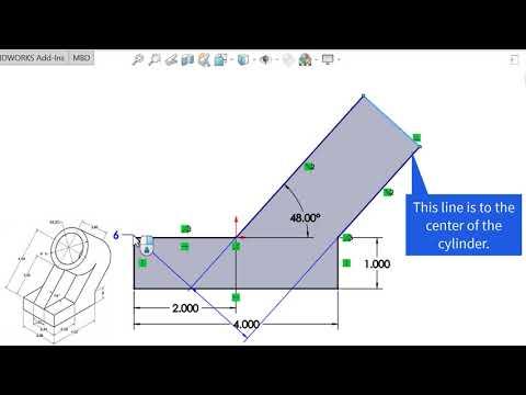 SolidWorks CSWA Exam Exercises - CSWA II - Problem 5 - YouTube