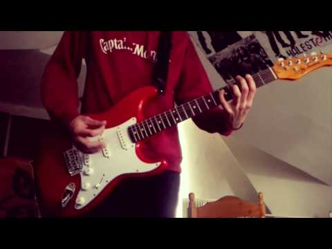 """Weezer - """"Eulogy For A Rock Band"""" Guitar Cover"""