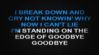 SC2146 08   Berry, John   Standing On The Edge Of Goodbye [karaoke]