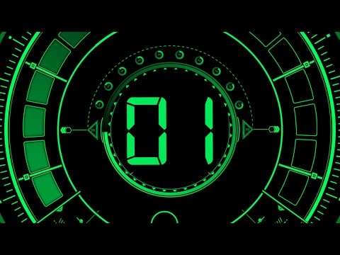 Countdown Timer 20 sec ( v 466 ) circle equalizer effects with sound