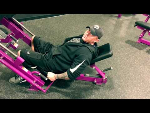Planet Fitness - How To Use Leg Press Machine