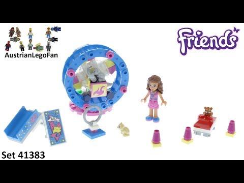 Vidéo LEGO Friends 41383 : L'aire de jeu du hamster d'Olivia