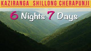 Shillong, Cherrapunji, Kaziranga Tour Guide