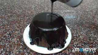 how to make glaze with cocoa powder