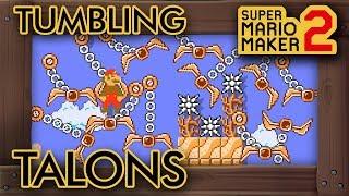 "Super Mario Maker 2 - Creative ""Tomb of the Tumbling Talons"" Level"