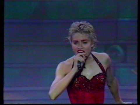 Madonna Holyday live, Torino 4 sept 1987