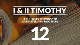 I & II Timothy - #12