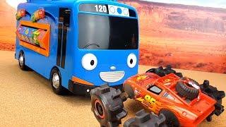 Учим цвета Цифры Буквы Животных с Автобусом Тайо. Обучающие мультики для детей TAYO Bus learn colors