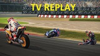 MotoGP 17 | CAREER RACE #45 | MotoGP | CATALUNYA | TV REPLAY