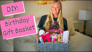 DIY: 21st Birthday Gift Basket