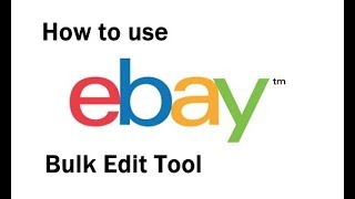 How to use Bulk Listing Editor on Ebay 2019 with special trick to get better search standings